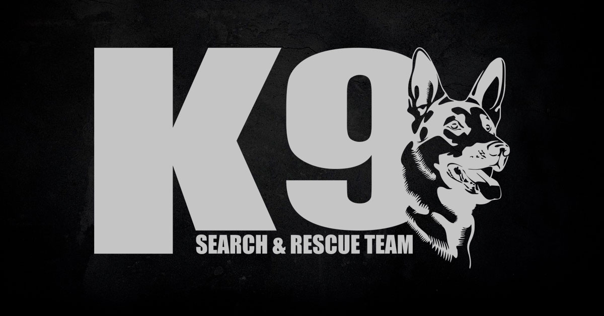 K9 Search and Rescue team