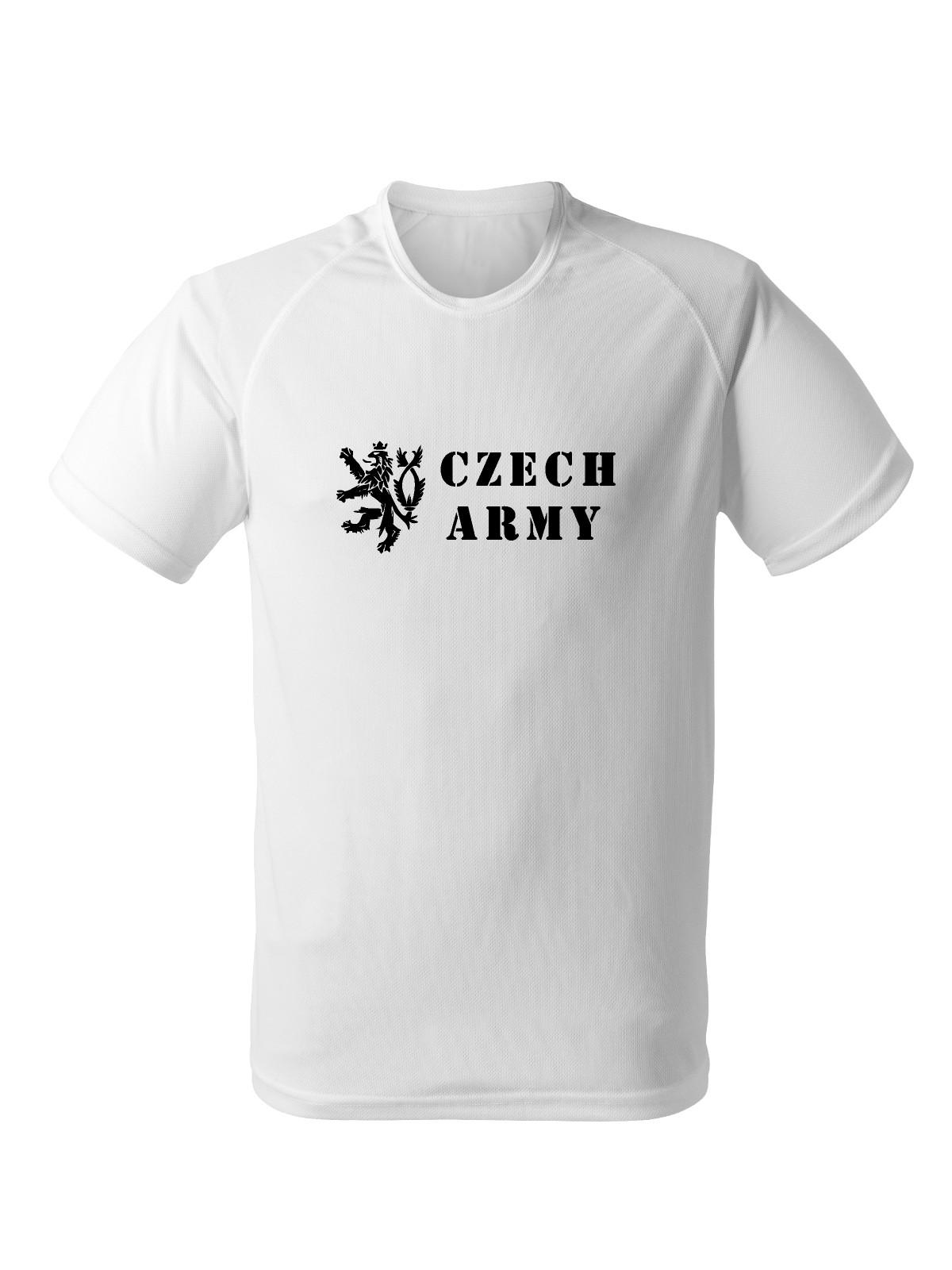 488b75c1bc2 Funkční tričko Czech Army Lion