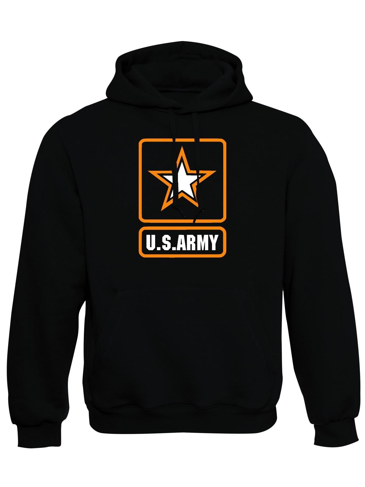 Mikina s kapucí U.S. ARMY Logo fdd3f817db