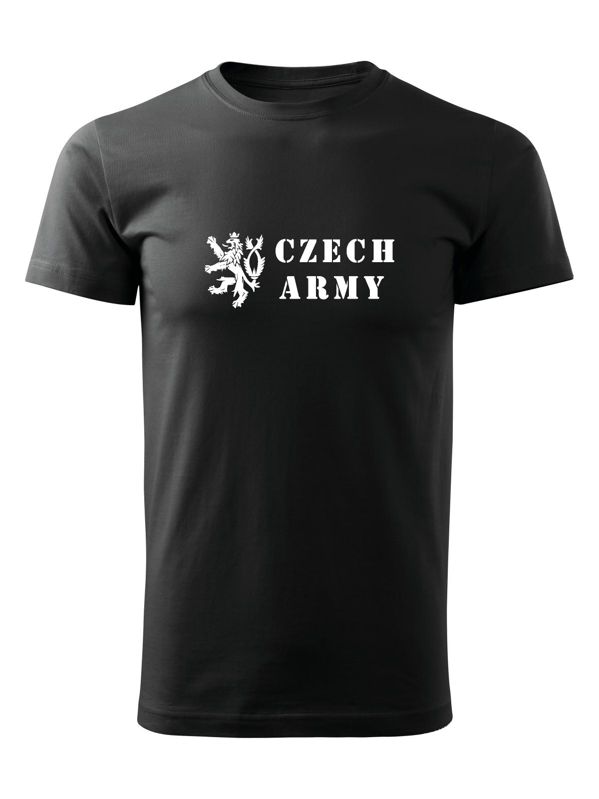 f304dfc85f0 Tričko Czech Army Lion