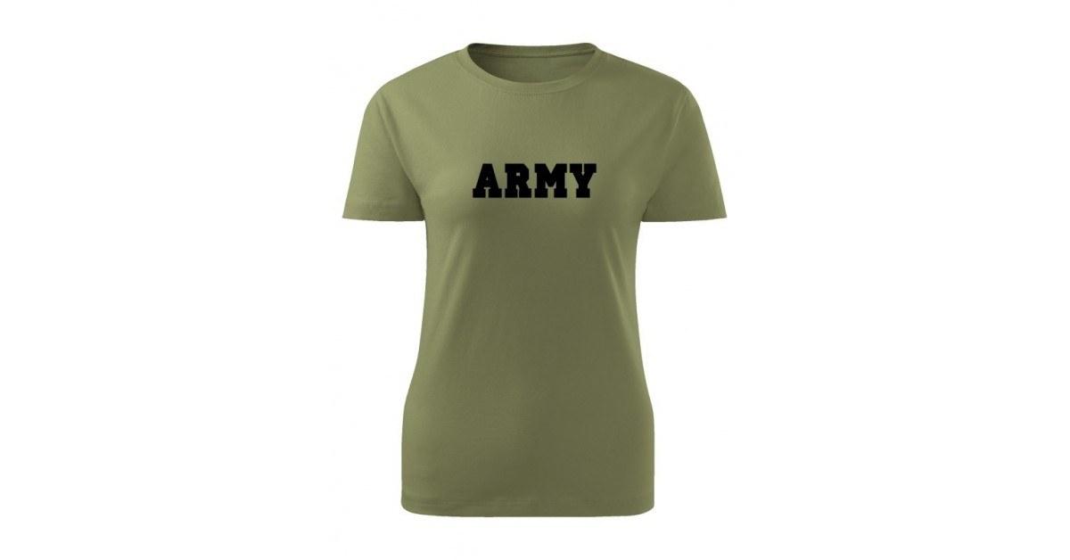 6b2dbe39f1cc Dámské tričko ARMY