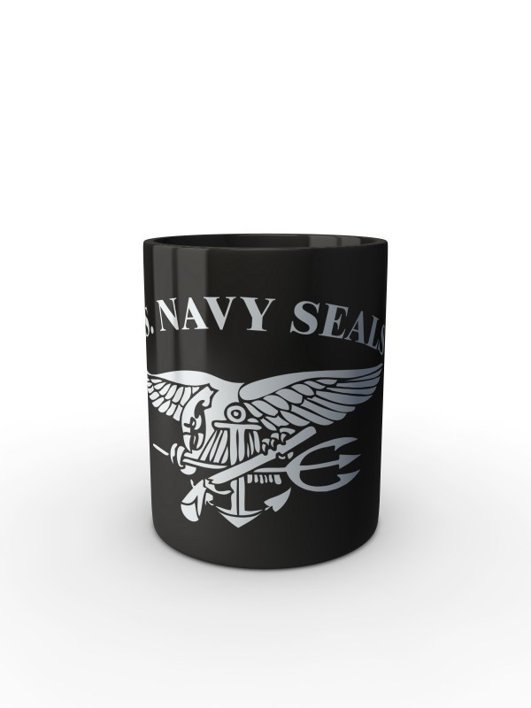 Černý hrnek United States NAVY SEALS SIMPLE