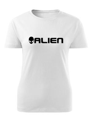 AKCE Dámské tričko Grey ALIEN - bílé, S