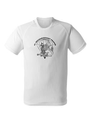 AKCE Funkční tričko 41. mechanizovaný prapor - bílé, L