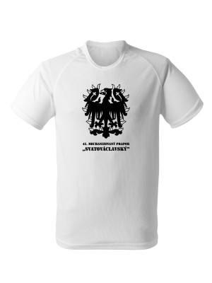 AKCE Funkční tričko 42. MECHANIZOVANÝ PRAPOR - bílé, XXL