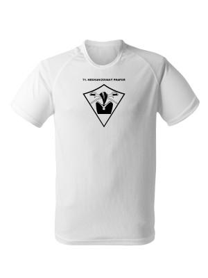 AKCE Funkční tričko 71. mechanizovaný prapor - bílé, M