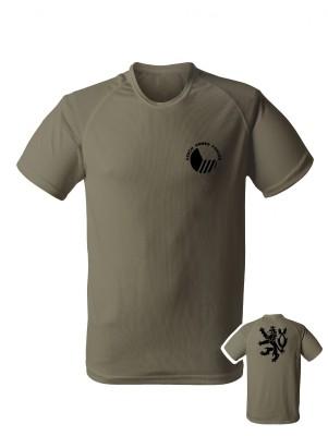 AKCE Funkční tričko Czech Armed Forces Lion - olivové, XL