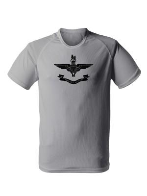 AKCE Funkční tričko Parachute Regiment - světle šedé, M