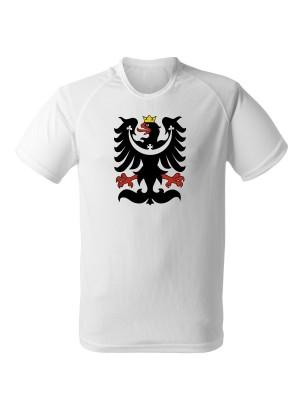 AKCE Funkční tričko SLEZSKÁ ORLICE - bílé - M