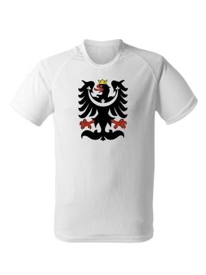 AKCE Funkční tričko SLEZSKÁ ORLICE - bílé - S
