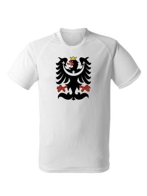 AKCE Funkční tričko SLEZSKÁ ORLICE - bílé - XXL