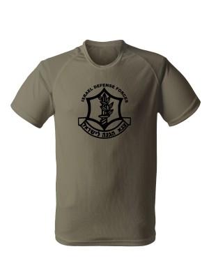 AKCE Funkční triko IDF ZAHAL - olivové, M