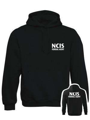 AKCE Mikina NCIS Federal agent - černá, S