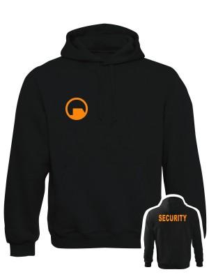 AKCE Mikina s kapucí Black Mesa SECURITY Force - černá - XL