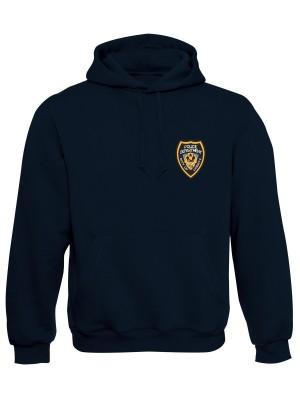 AKCE Mikina s kapucí GTA Police Department City of Liberty - modrá, M