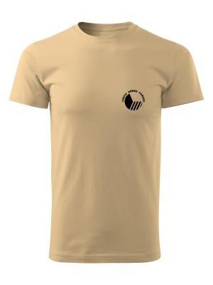 AKCE Pánské tričko Czech Armed Forces - pískové, XL