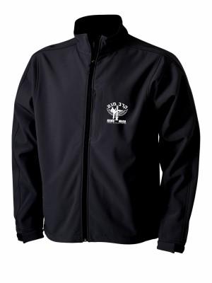 AKCE Softshell bunda IDF Krav Maga - SIMPLE - černá, XL