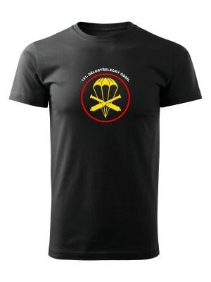 AKCE Tričko 131. dělostřelecký oddíl - černé, L
