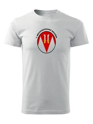 AKCE Tričko 7. mechanizovaná brigáda - bílé - L