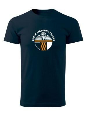 AKCE Tričko CAF 43rd Airborne Battalion - námořní modrá, S