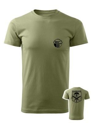 AKCE Tričko CAF 601st Special Forces Group - olivové, S