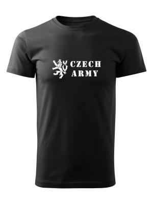AKCE Tričko Czech Army Lion - černé, XL