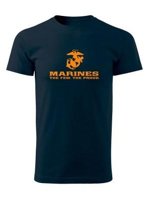 AKCE Tričko EGA Marines The Few The Proud - modré, M