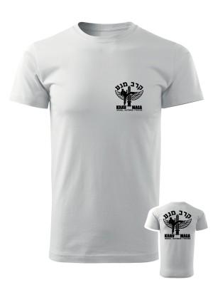 AKCE Tričko IDF Krav Maga - BACKSIDE - bílé, L