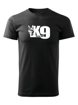 AKCE Tričko K9 Police Unit - černé, S