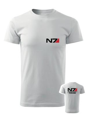 AKCE Tričko N7 Alliance Special Forces - bílé, M