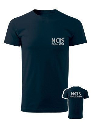 AKCE Tričko NCIS Federal agent - námořní modrá, XXL