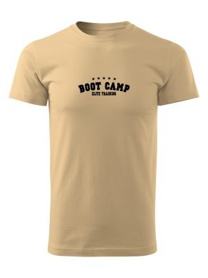 AKCE Tričko U.S. ARMY BOOT CAMP ELITE TRAINING - pískové, L