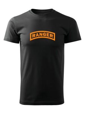 AKCE Tričko U.S. Army RANGER - černé, XXXL