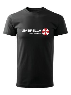AKCE Tričko Umbrella Corporation Line - černé, M