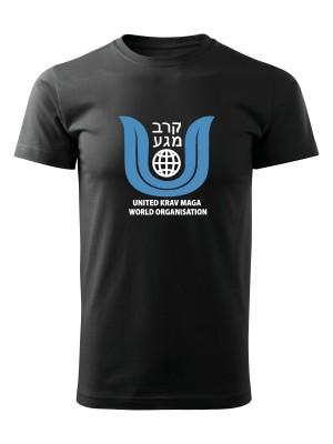 AKCE Tričko United Krav Maga BIG - černé, XL