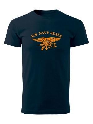 AKCE Tričko United States NAVY SEALS - námořní modrá, XXL