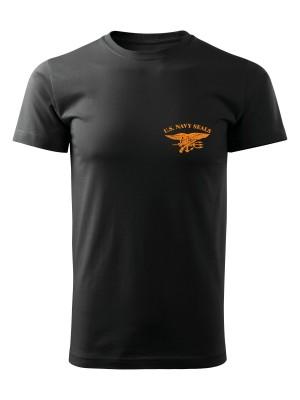 AKCE Tričko United States NAVY SEALS SIMPLE - černé, M