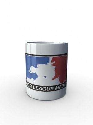 Bílý hrnek Major League Medic