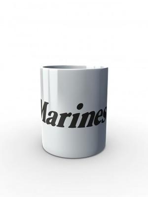 Bílý hrnek Marines