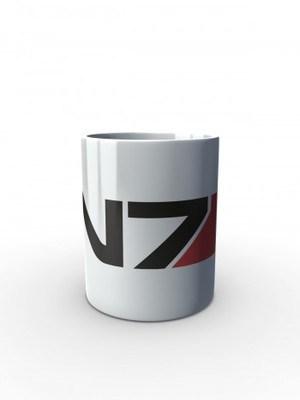 Bílý hrnek N7
