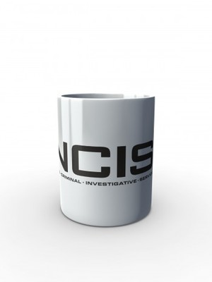 Bílý hrnek NCIS Naval Criminal Investigative Service