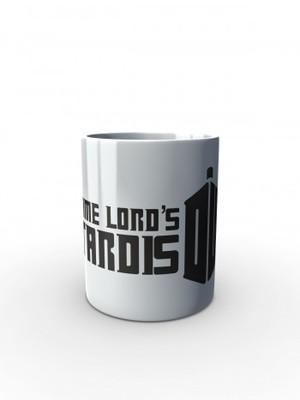 Bílý hrnek Time Lord's Tardis