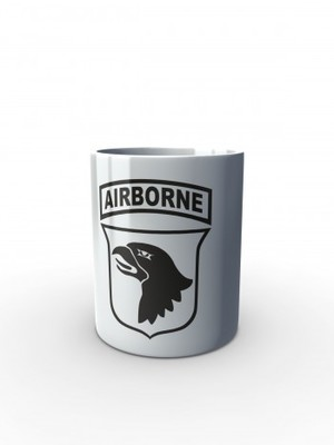 Bílý hrnek U.S. ARMY 101st Airborne Division