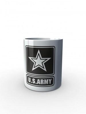 Bílý hrnek U.S. ARMY Logo