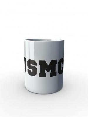 Bílý hrnek USMC