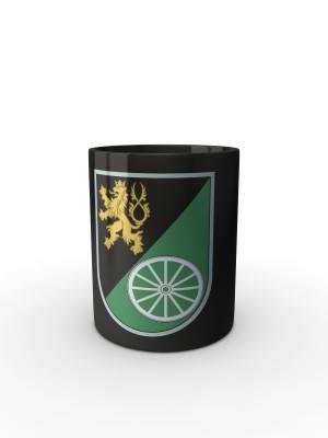 Černý hrnek 143. zásobovací prapor (Lipník nad Bečvou)