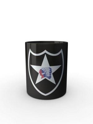 Černý hrnek 2nd Infantry Division