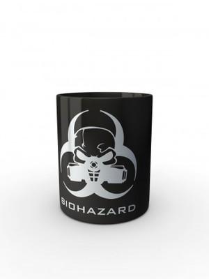 Černý hrnek Biohazard