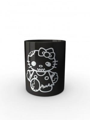 Černý hrnek Hello Kitty Zombie