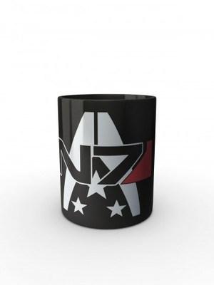 Černý hrnek N7 Alliance Military